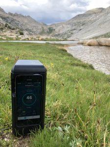 Biomeme thermocycler in Yosemite.