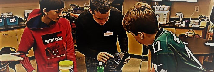 Max Shows Students the Biomeme two3