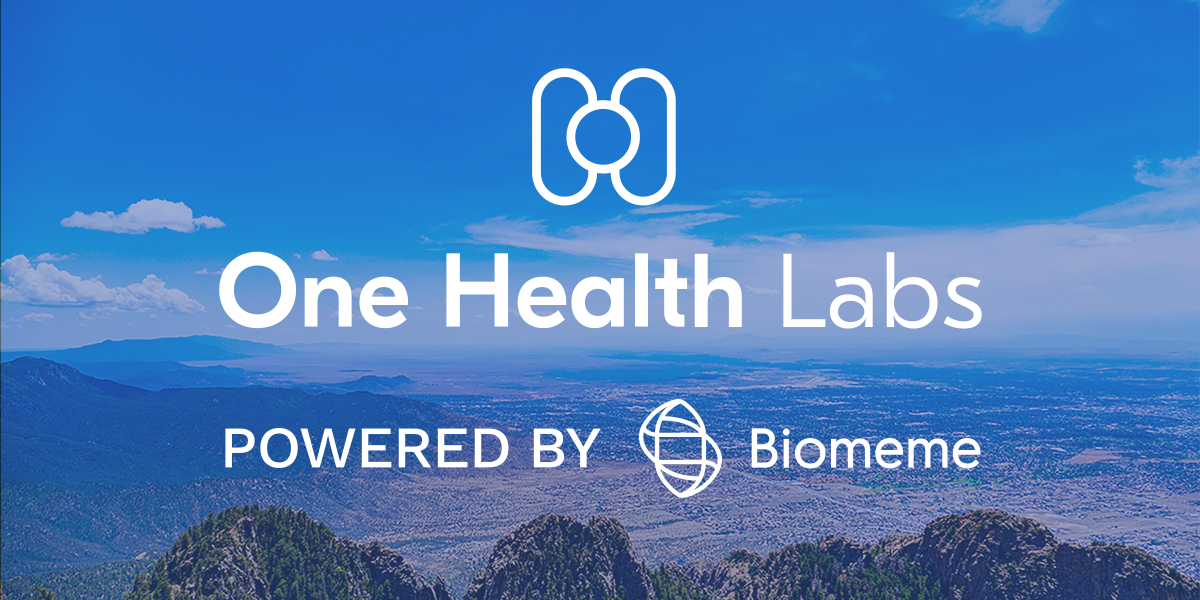 One Health Labs New Mexico, Powered by Biomeme