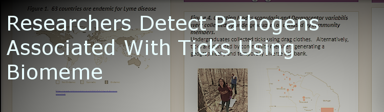 Researchers Detect Pathogens Associated with Ticks Using Biomeme
