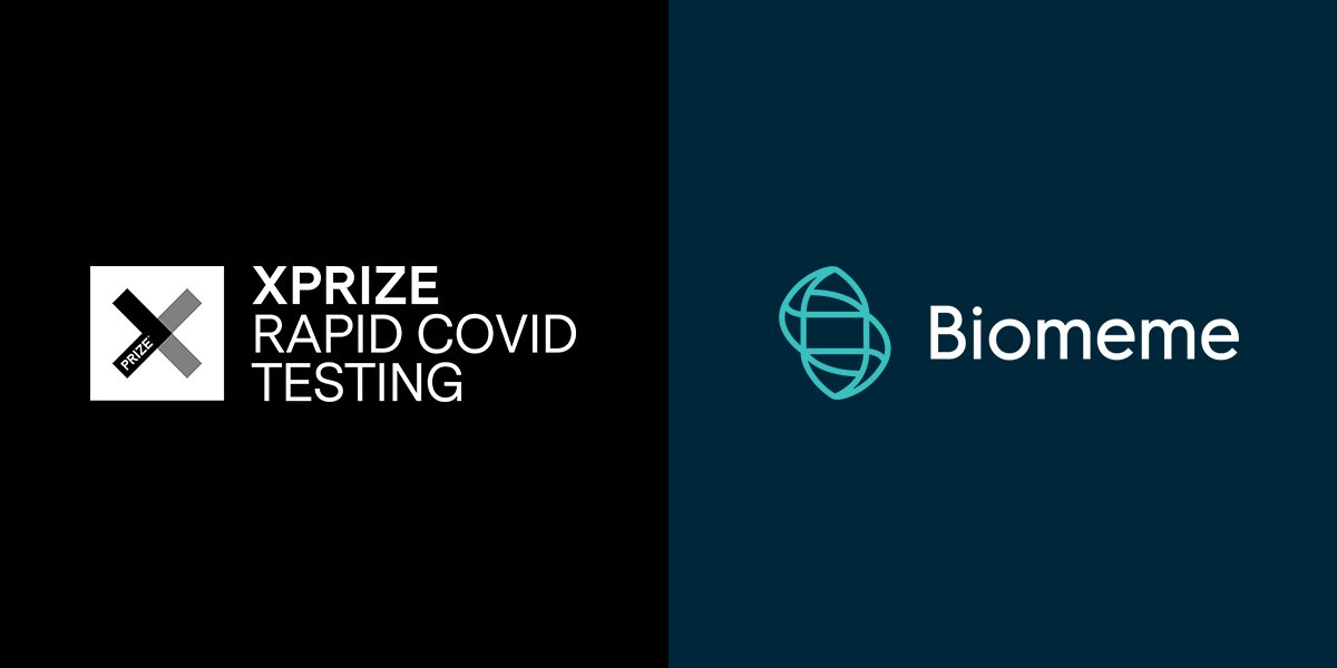 Biomeme is a semi-finalist for the XPRIZE Rapid Covid Testing